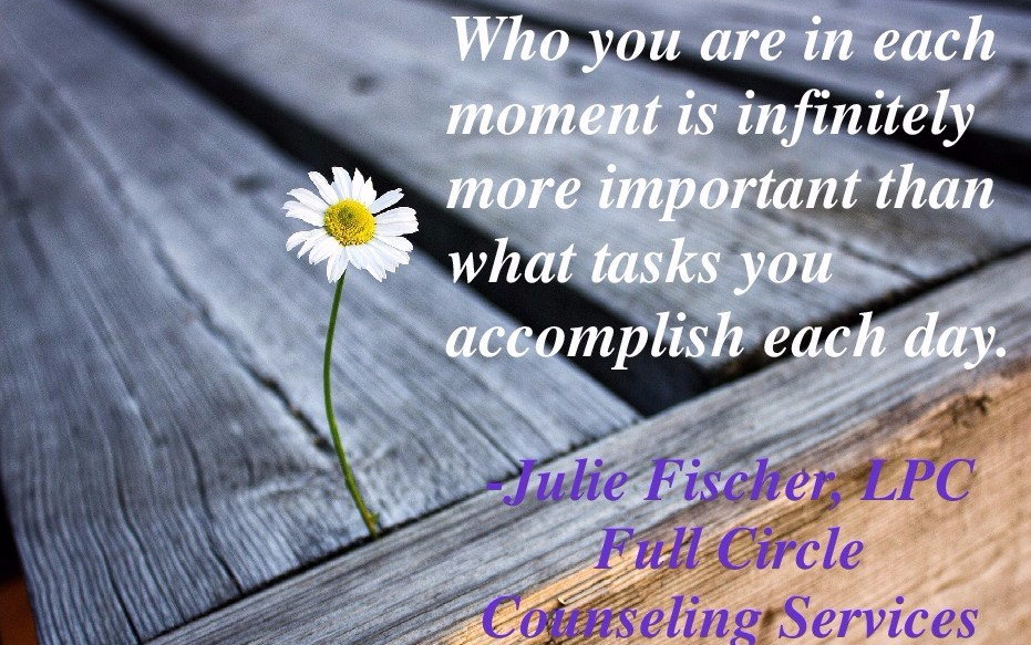 Who you are…or what you accomplish?